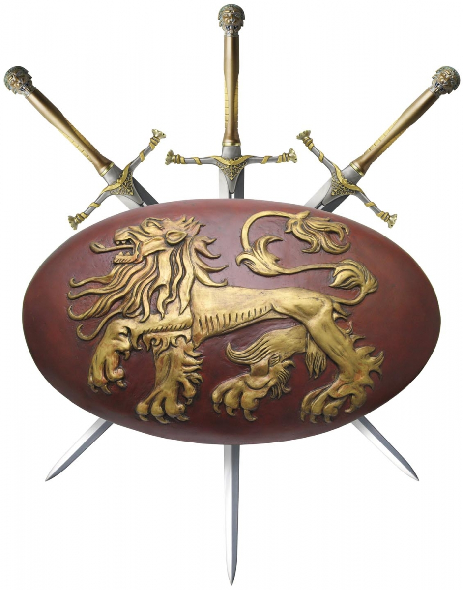 game of thrones lannister shield valyrian steel