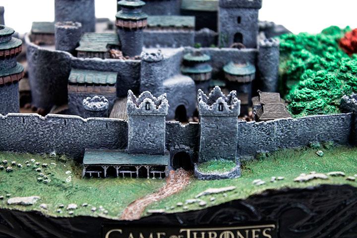 Game Thrones Winterfell Sculpture Valyrian Steel